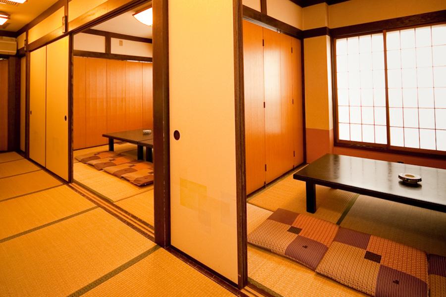 大小様々な個室のお座敷席をご用意しています